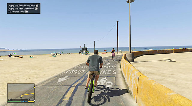 Remain on the path during the race - 9: Daddys Little Girl - Main missions - Grand Theft Auto V Game Guide