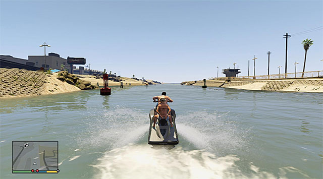 Keep steering ahead and do not waste time to explore side-branches, because they will lead you nowhere, initially - 9: Daddys Little Girl - Main missions - Grand Theft Auto V Game Guide