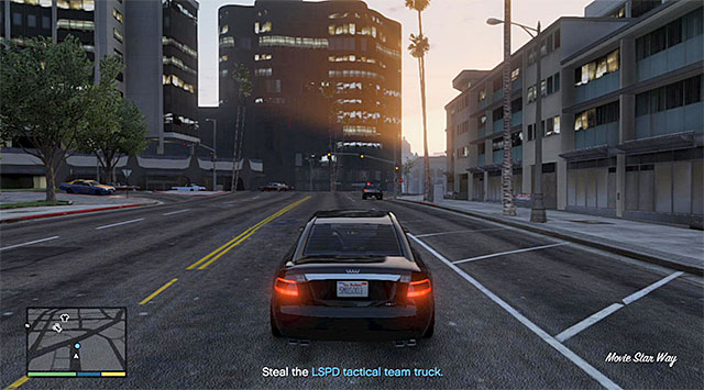 The police SUV - 12: Carbine Rifles - Main missions - Grand Theft Auto V Game Guide