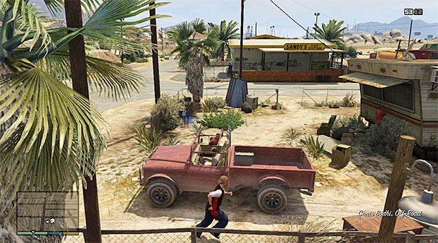 Trevors truck - 17: Mr. Philips - Main missions - Grand Theft Auto V Game Guide