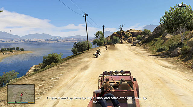Drive towards the location named Grapeseed - 17: Mr. Philips - Main missions - Grand Theft Auto V Game Guide
