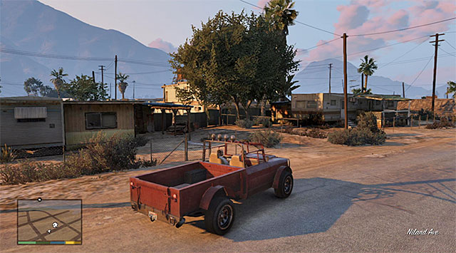 The place where this mission finishes - 17: Mr. Philips - Main missions - Grand Theft Auto V Game Guide