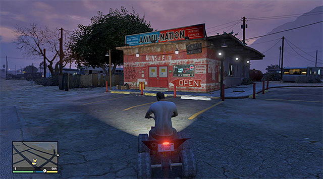 The Ammu-Nation store - 18: Nervous Ron - Main missions - Grand Theft Auto V Game Guide