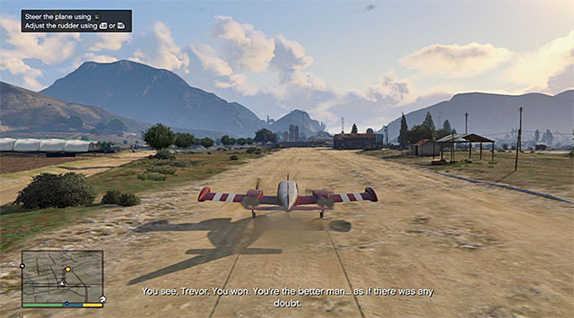 The place where the mission ends - 18: Nervous Ron - Main missions - Grand Theft Auto V Game Guide