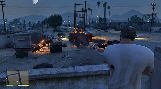The grenade launcher will help you clear the area - 19: Trevor Philips Industries - Main missions - Grand Theft Auto V Game Guide