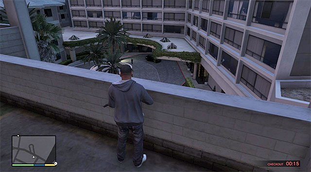 You will be granted a lot of freedom when it comes to assassinating Lowrey and, I recommend against a direct confrontation, which will, unnecessarily, end up in a shootout, and may also result in a police pursuit - 23: Hotel Assassination - Main missions - Grand Theft Auto V Game Guide