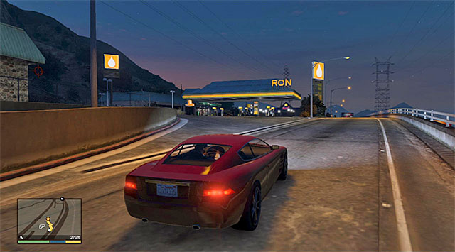 Gas station - 42: I Fought the Law... - Main missions - Grand Theft Auto V Game Guide