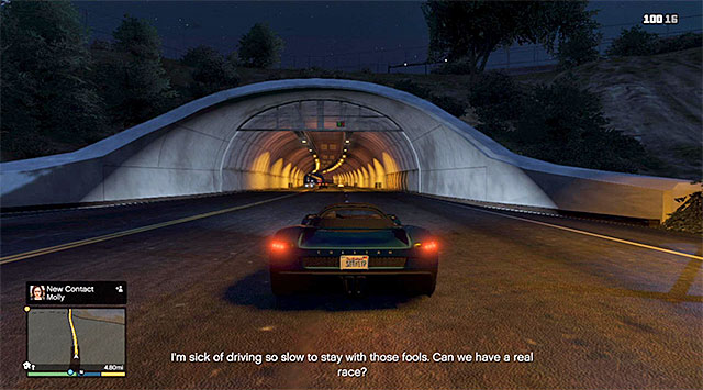 Try to maintain high speed at all times - 42: I Fought the Law... - Main missions - Grand Theft Auto V Game Guide