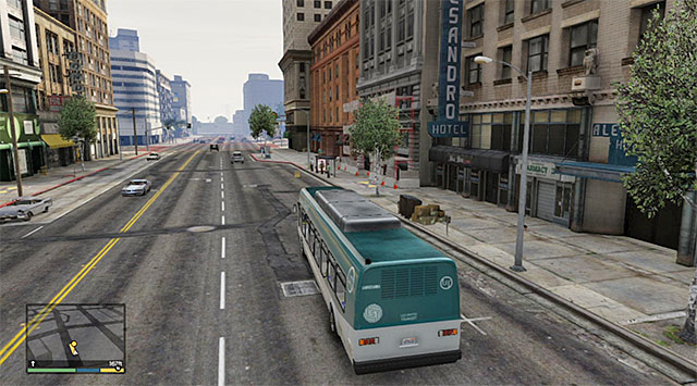 Keep stopping on consecutive bus stops - 45: The Bus Assassination - Main missions - Grand Theft Auto V Game Guide