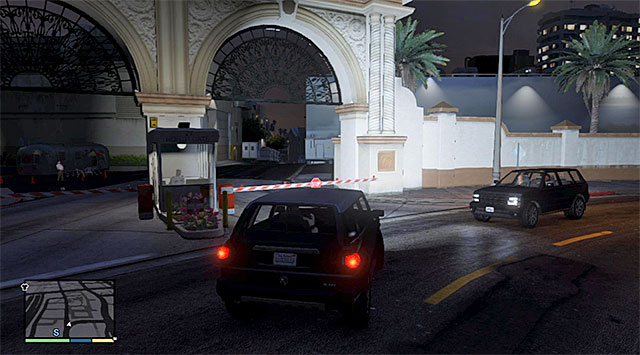 The gateway into the movie studio - 46: Mr. Richards - Main missions - Grand Theft Auto V Game Guide