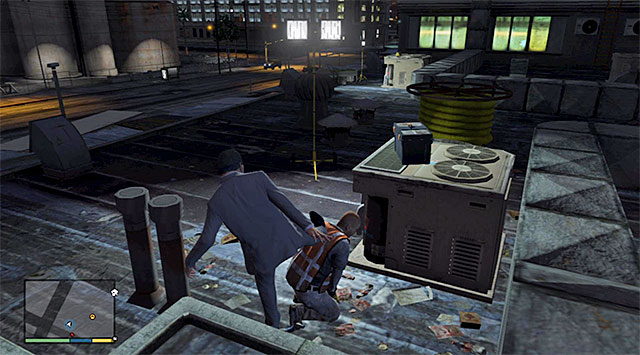 A persons staying on the rooftop - 46: Mr. Richards - Main missions - Grand Theft Auto V Game Guide