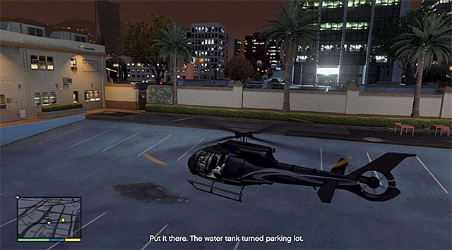 After McIlroy changes his mind, fly back to the filmmaking studio where you have started this mission - 46: Mr. Richards - Main missions - Grand Theft Auto V Game Guide