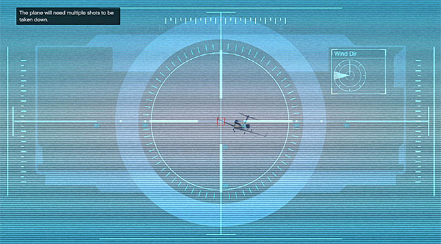 Aim at the red square instead of the plane itself - 47: Caida Libre - Main missions - Grand Theft Auto V Game Guide