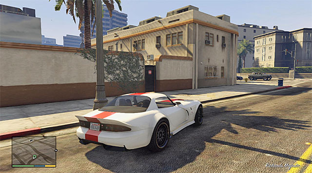 Stop near the movie set without driving into it - 48: Deep Inside - Main missions - Grand Theft Auto V Game Guide