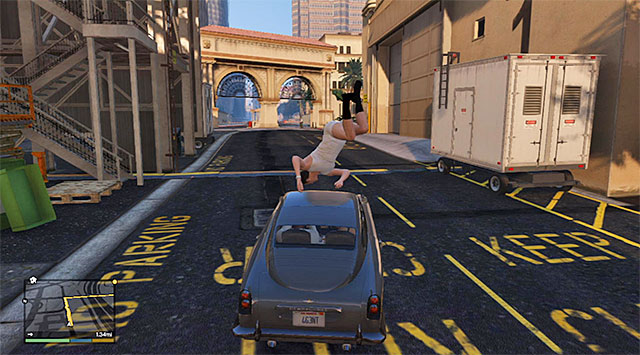 You can now go towards the place where there is the car that you can steal - 48: Deep Inside - Main missions - Grand Theft Auto V Game Guide