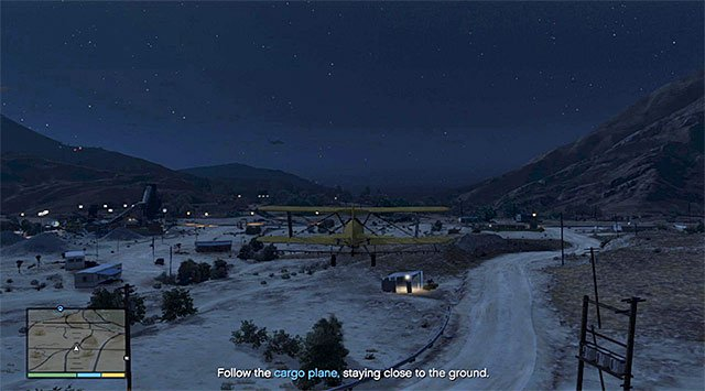 Watch out for trees, poles and other high-located elements - 49: Minor Turbulence - Main missions - Grand Theft Auto V Game Guide