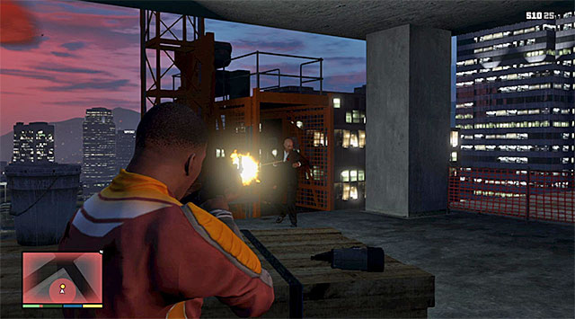 The second elevator - 50: The Construction Assassination - Main missions - Grand Theft Auto V Game Guide