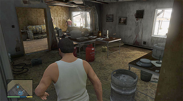 You need to reach the buildings upper floor - 51: Paleto Score Setup - Main missions - Grand Theft Auto V Game Guide