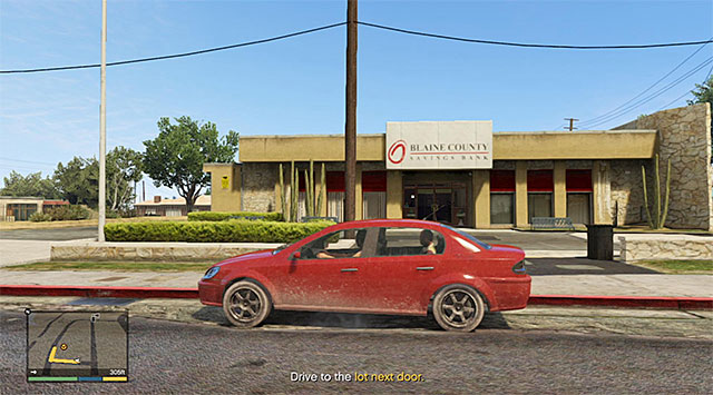 The banks main entrance - 51: Paleto Score Setup - Main missions - Grand Theft Auto V Game Guide
