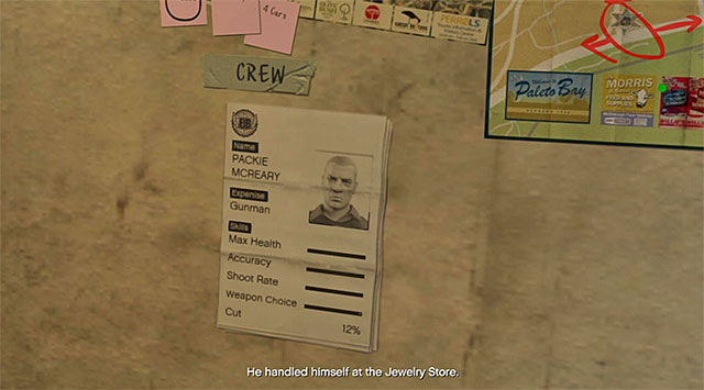 The best choice will be the same person that took part in the jewel store heist - 51: Paleto Score Setup - Main missions - Grand Theft Auto V Game Guide