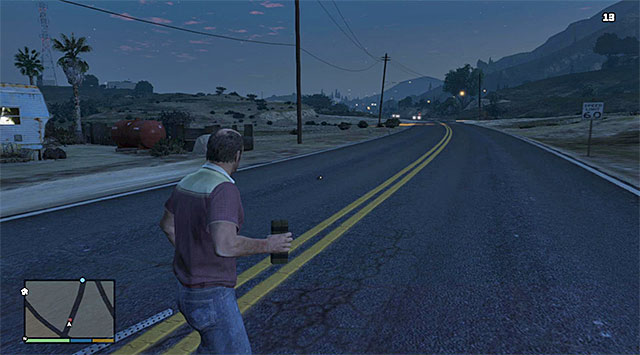 Put a bomb on the road - 52: Military Hardware - Main missions - Grand Theft Auto V Game Guide