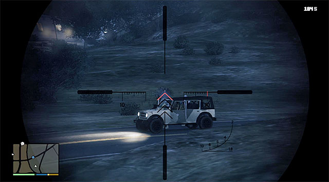 Eliminate the soldiers at a distance - 52: Military Hardware - Main missions - Grand Theft Auto V Game Guide