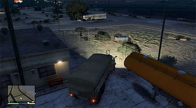 The place where the mission ends - 52: Military Hardware - Main missions - Grand Theft Auto V Game Guide