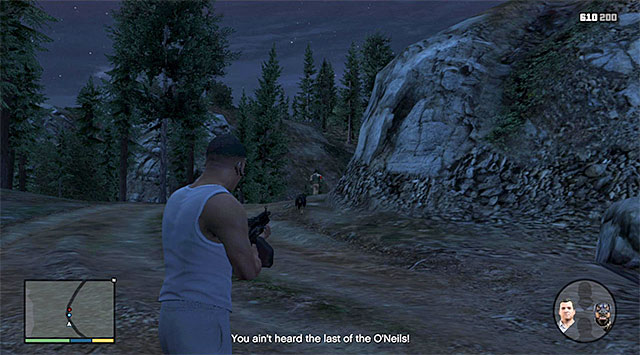 Eliminate the last one of the enemies - 53: Predator - Main missions - Grand Theft Auto V Game Guide