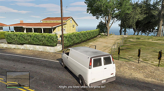 The place where Franklin drops off - 54: The Paleto Score - Main missions - Grand Theft Auto V Game Guide