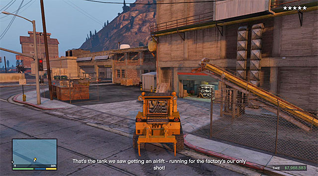 The factory - 54: The Paleto Score - Main missions - Grand Theft Auto V Game Guide