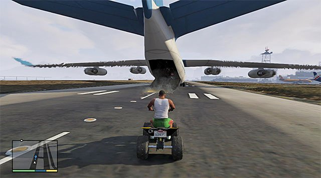 The cargo plane - Liquidity Risk - Strangers and Freaks missions - Grand Theft Auto V Game Guide