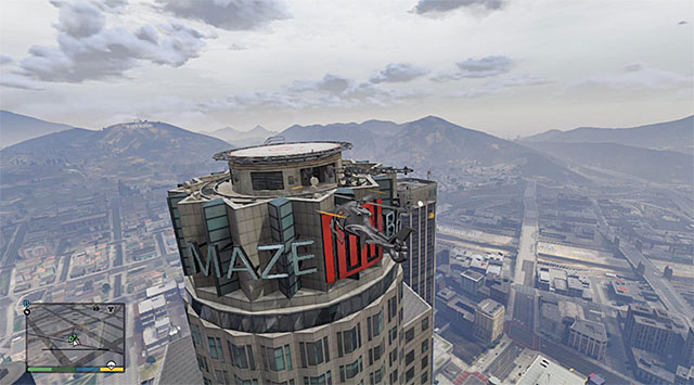 The skyscraper that Dom is on the top of - Targeted Risk - Strangers and Freaks missions - Grand Theft Auto V Game Guide