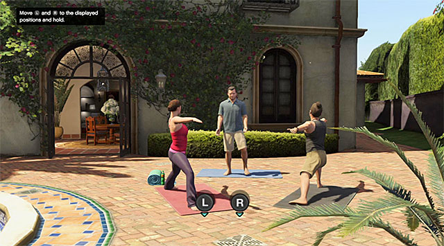 Read commands displaying on the screen - 26: Did Somebody Say Yoga? - Main missions - Grand Theft Auto V Game Guide