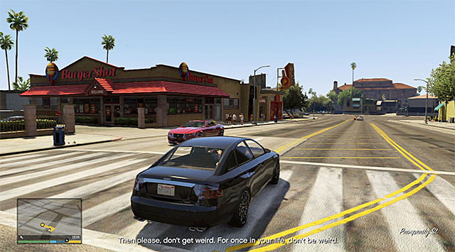 Burger Shot - 26: Did Somebody Say Yoga? - Main missions - Grand Theft Auto V Game Guide