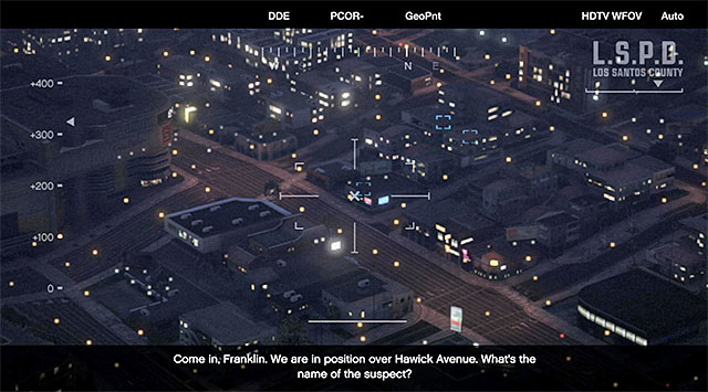 New targets to scan - 43: Eye in the Sky - Main missions - Grand Theft Auto V Game Guide