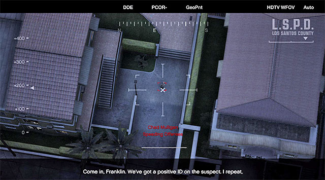 Also this time, you will fail to find the suspect, i - 43: Eye in the Sky - Main missions - Grand Theft Auto V Game Guide
