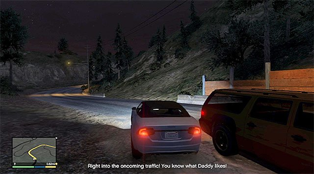 Perform dangerous maneuvers on your way to the destination point - Downtown Cab Co. - Property missions - Grand Theft Auto V Game Guide