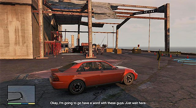The port - Downtown Cab Co. - Property missions - Grand Theft Auto V Game Guide