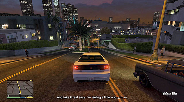 Do not drive too fast and try not to bump into anything - Downtown Cab Co. - Property missions - Grand Theft Auto V Game Guide