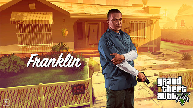 Franklin is an excellent driver - Franklin - Main characters - Grand Theft Auto V Game Guide