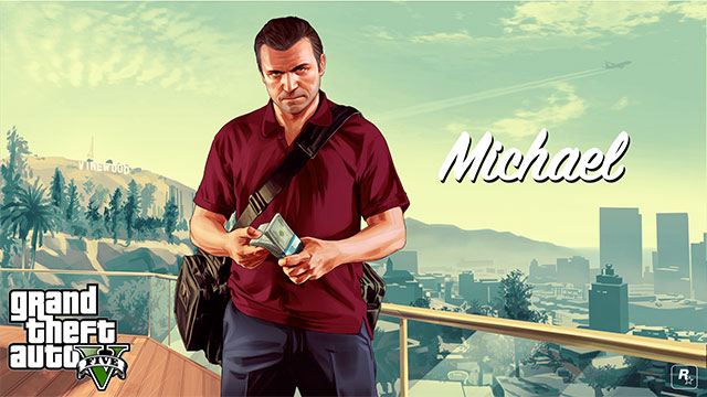 Michael is the mastermind that plans every bigger heist - Michael - Main characters - Grand Theft Auto V Game Guide