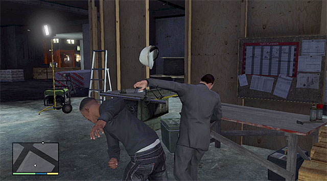 Sneak up to the architect from behind and eliminate him - 65: Architects Plans - Main missions - Grand Theft Auto V Game Guide