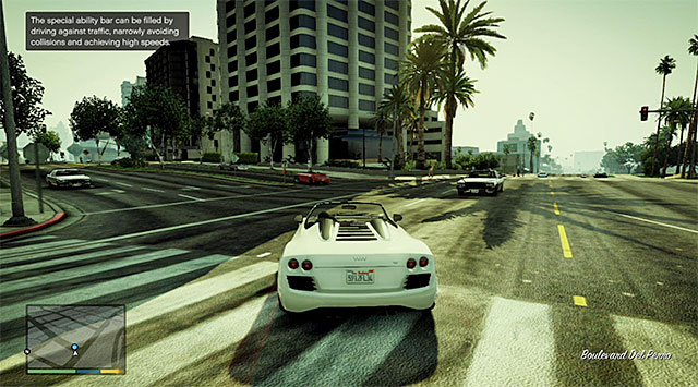 Franklins special skill helps him avoid collisions - 2: Franklin and Lamar - Main missions - Grand Theft Auto V Game Guide