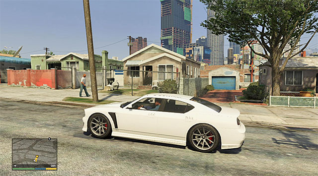 The vicinities of Franklins house - 2: Franklin and Lamar - Main missions - Grand Theft Auto V Game Guide