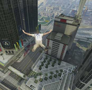 I fly cause I want... - Parachute Jumps | Activities - Activities - Grand Theft Auto V Game Guide