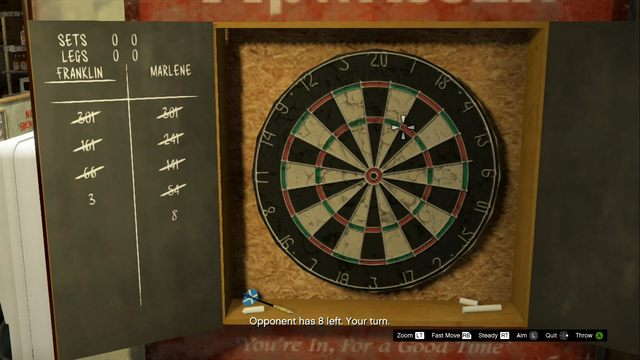 Triple 20 is most valuable - Darts - Activities, Entertainment - Grand Theft Auto V Game Guide