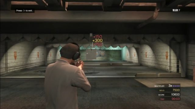 Finishing the challenges in Shooting Range gives you a discount - Shooting Range - Activities, Entertainment - Grand Theft Auto V Game Guide