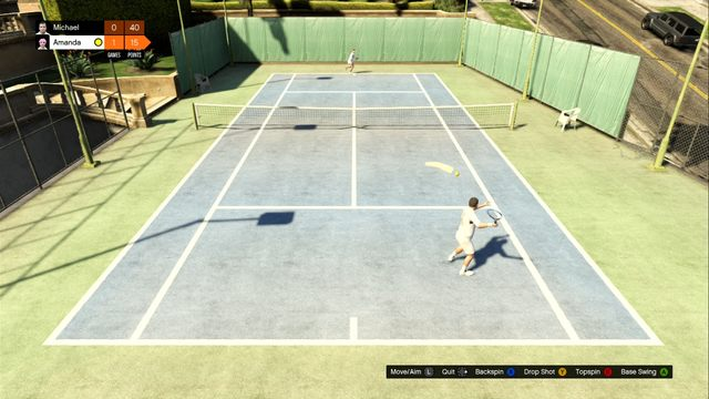 Tennis increases characters strength - Tennis - Activities, Entertainment - Grand Theft Auto V Game Guide