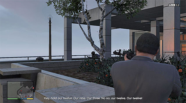Rely on Michaels special skill - 70: The Wrap Up - Main missions - Grand Theft Auto V Game Guide