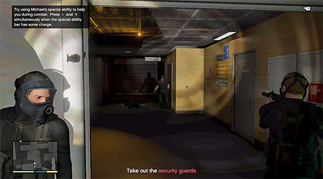 Use covers and eliminate one guard after another - 56: Monkey Business - Main missions - Grand Theft Auto V Game Guide